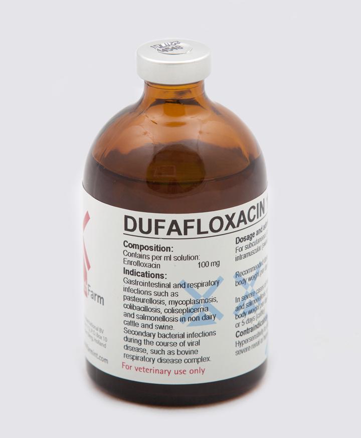 Dufafloxacin 10% Inj