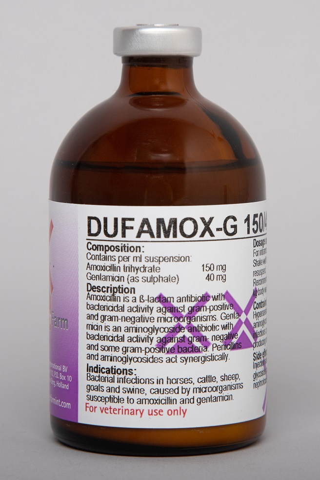 Dufamox-G 150/40 Inj
