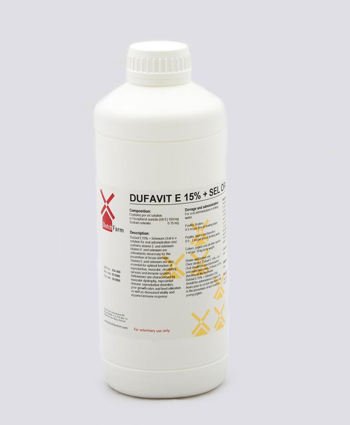 Dufavit E 15% + Sel Oral