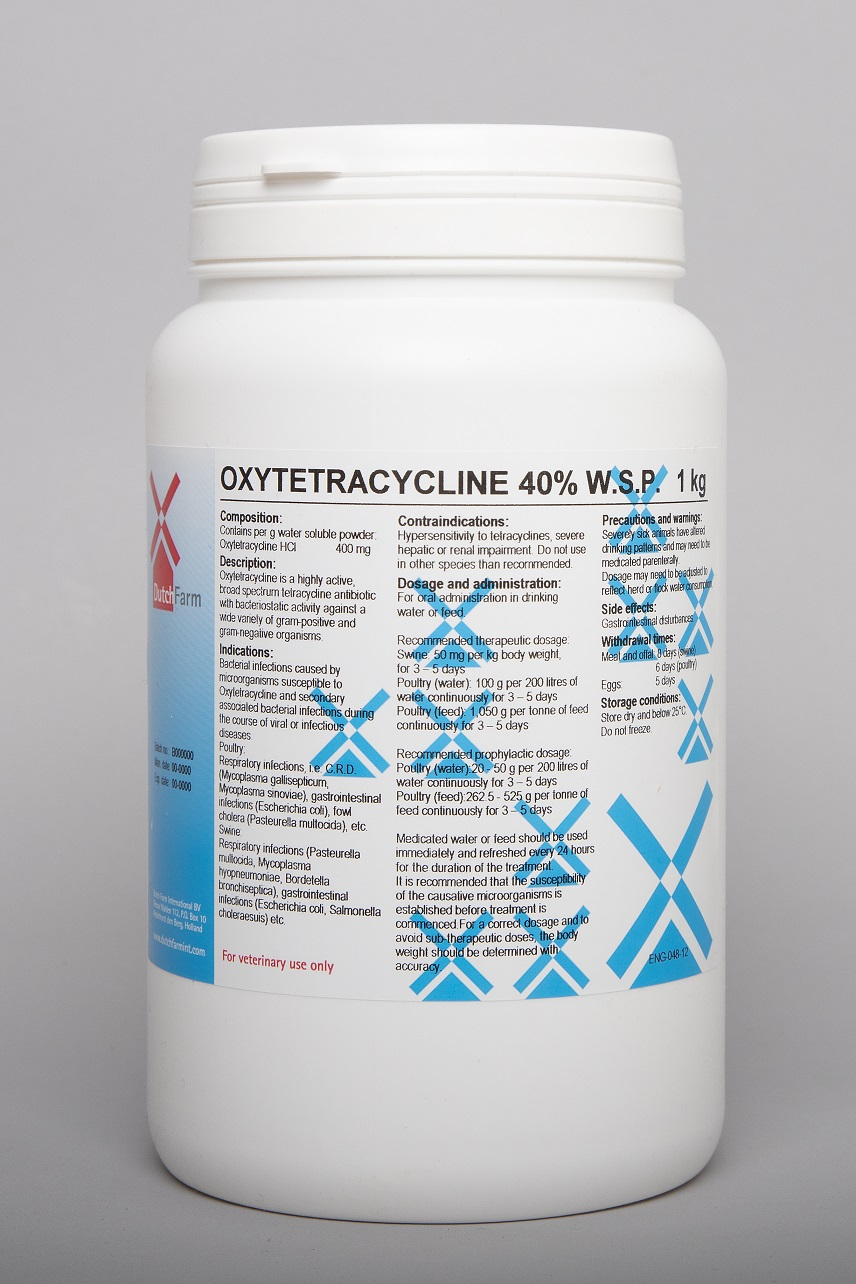 Oxytetracycline 40% wsp