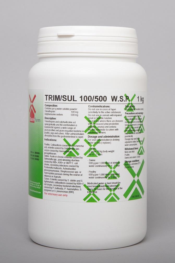 Trim/sul 100/500 wsp