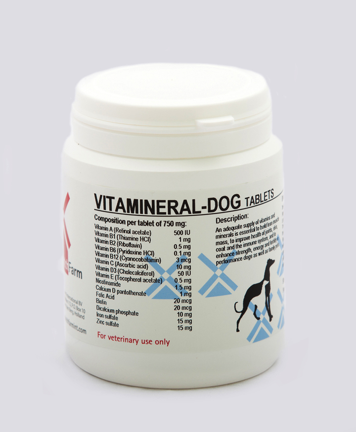 Vitamineral-Dog Tablets